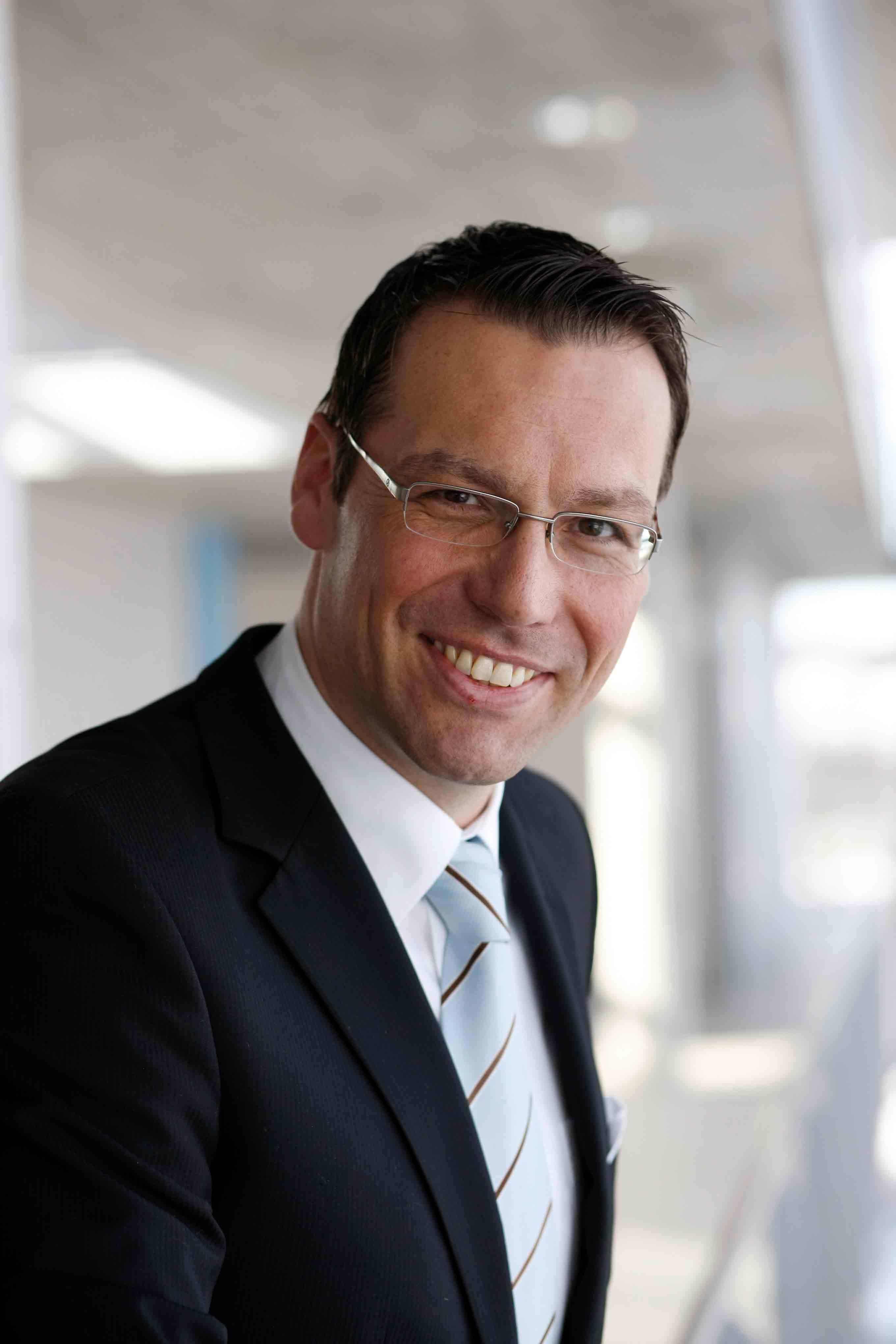 Foto von Prof. Dr.-Ing. Marc Rüger (Bildquelle: Fraunhofer IAO)