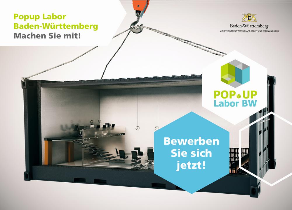 Bewerbungspostkarte (Bildquelle: Popup Labor BW / iStock-584758390 © peshko)