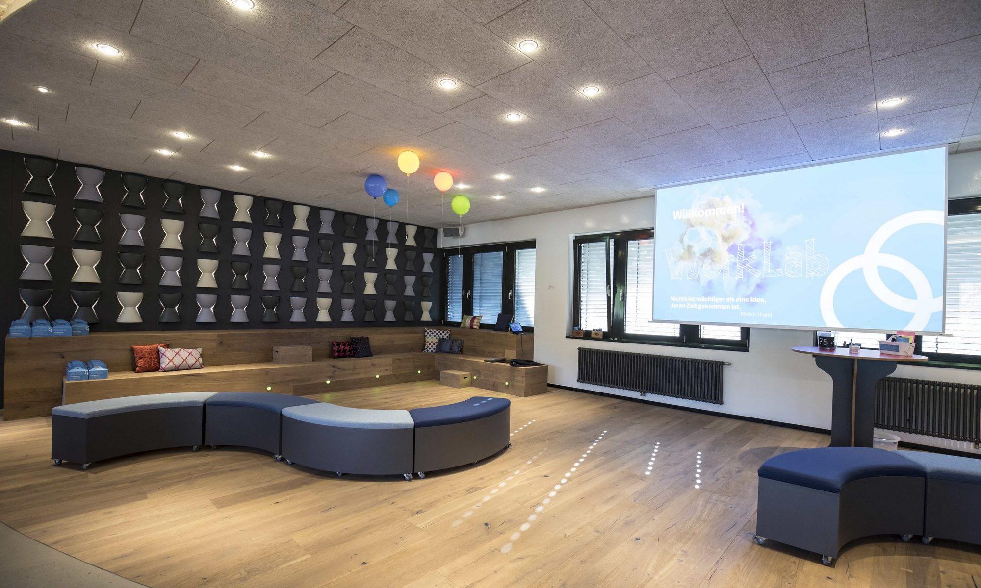 Foto von Innovationslabor (Bildquelle: Soennecken Worklab © Soennecken eG)