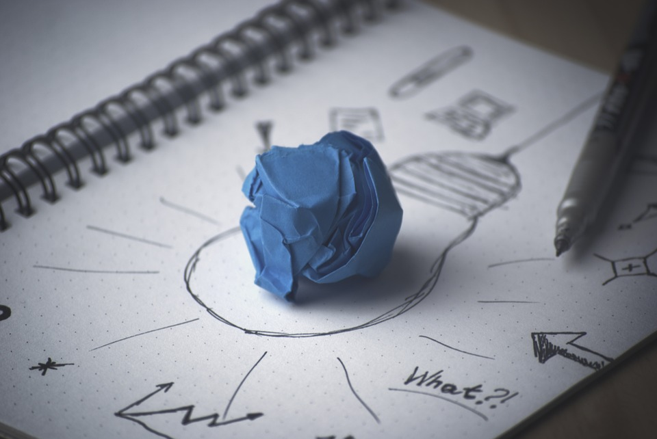 KeyVisual Design Thinking (Bildquelle: pixabay)
