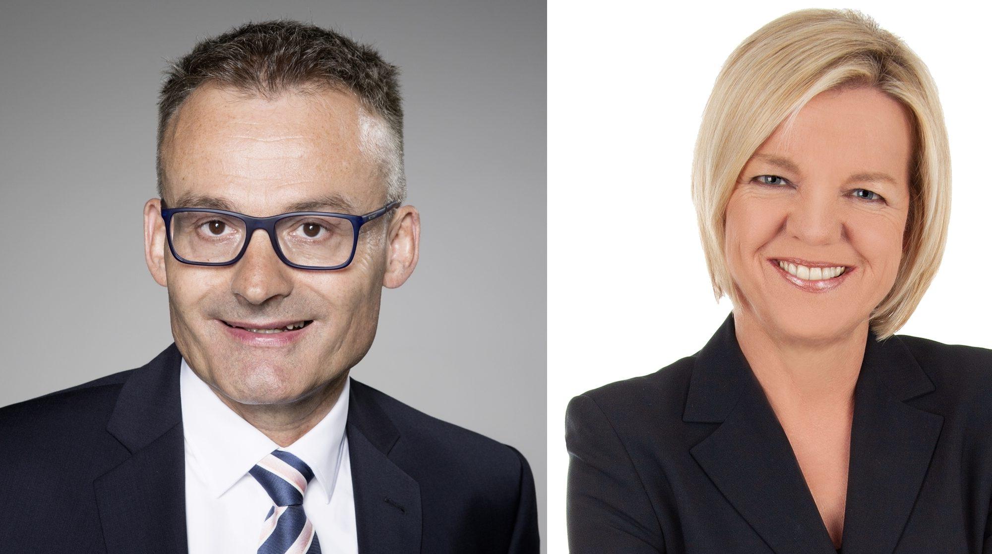 Frau Söndgen und Herr Bürgermeister Binder (Bildquelle. Gemeinde Baienfurt)