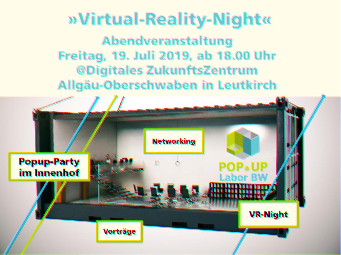Beipackzettel VR Night