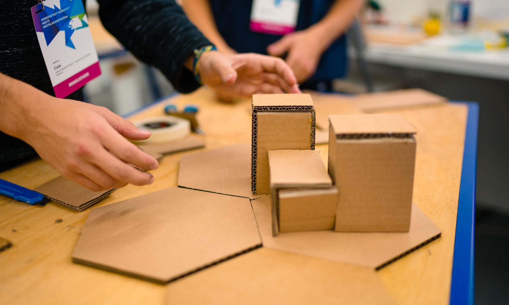 Foto von KI Prototyping (Bildquelle: Ludmilla Parsyak Photography / Fraunhofer IAO)