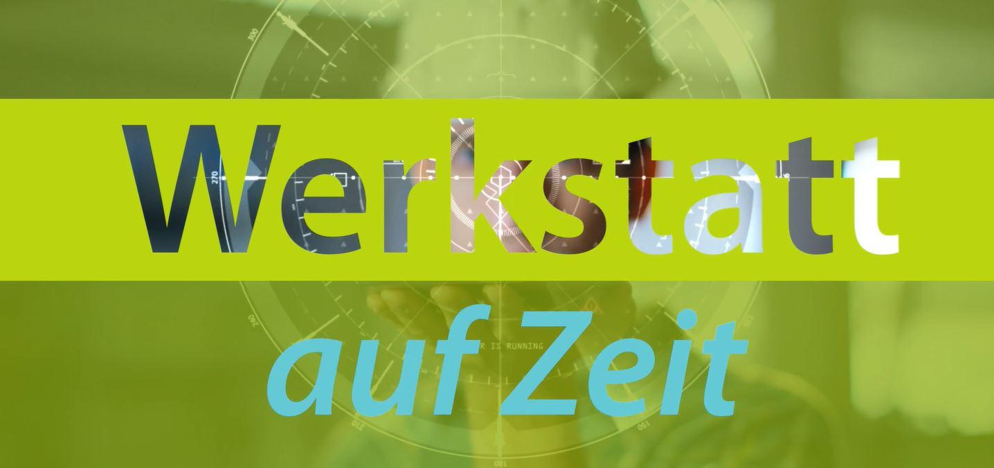 """Screenshot Video Sonntagsfilm """"Werkstatt auf Zeit"""" (Bildquelle: Sonntagsfilm)"""