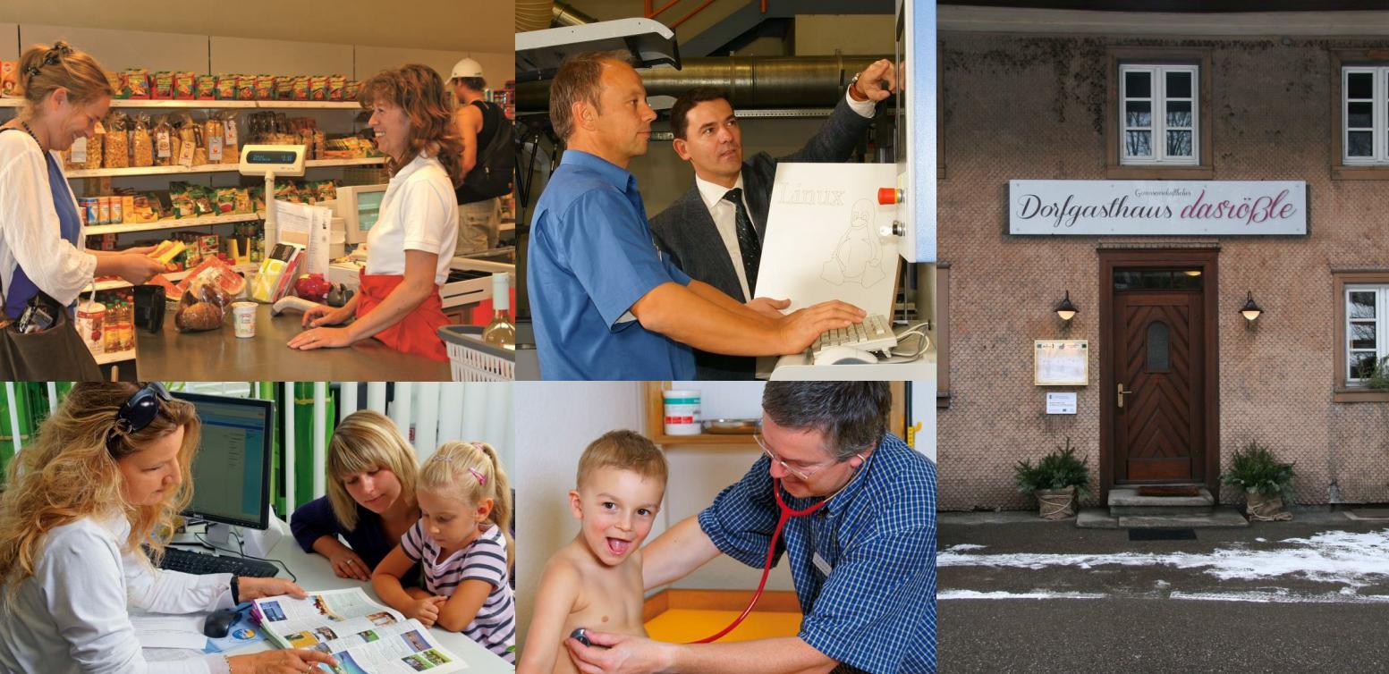 Foto Collage Genossenschaftsideen (Bildquelle: Baden-Württembergischer Genossenschaftsverband e.V.)