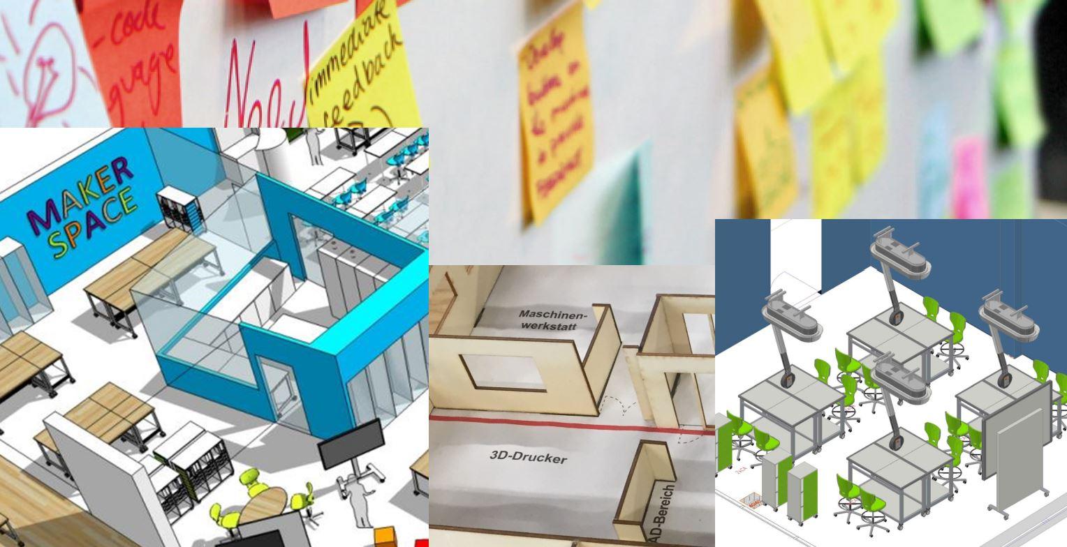 Symbolfoto Makerspace (Bildquelle: Hohenloher Spezialmöbelwerk Schaffitzel GmbH + Co. KG)