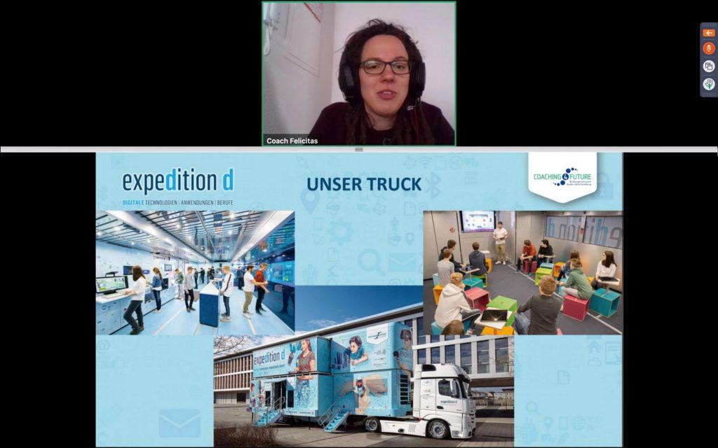 Vom Truck zum Webinar (Bildquelle: expedition d)
