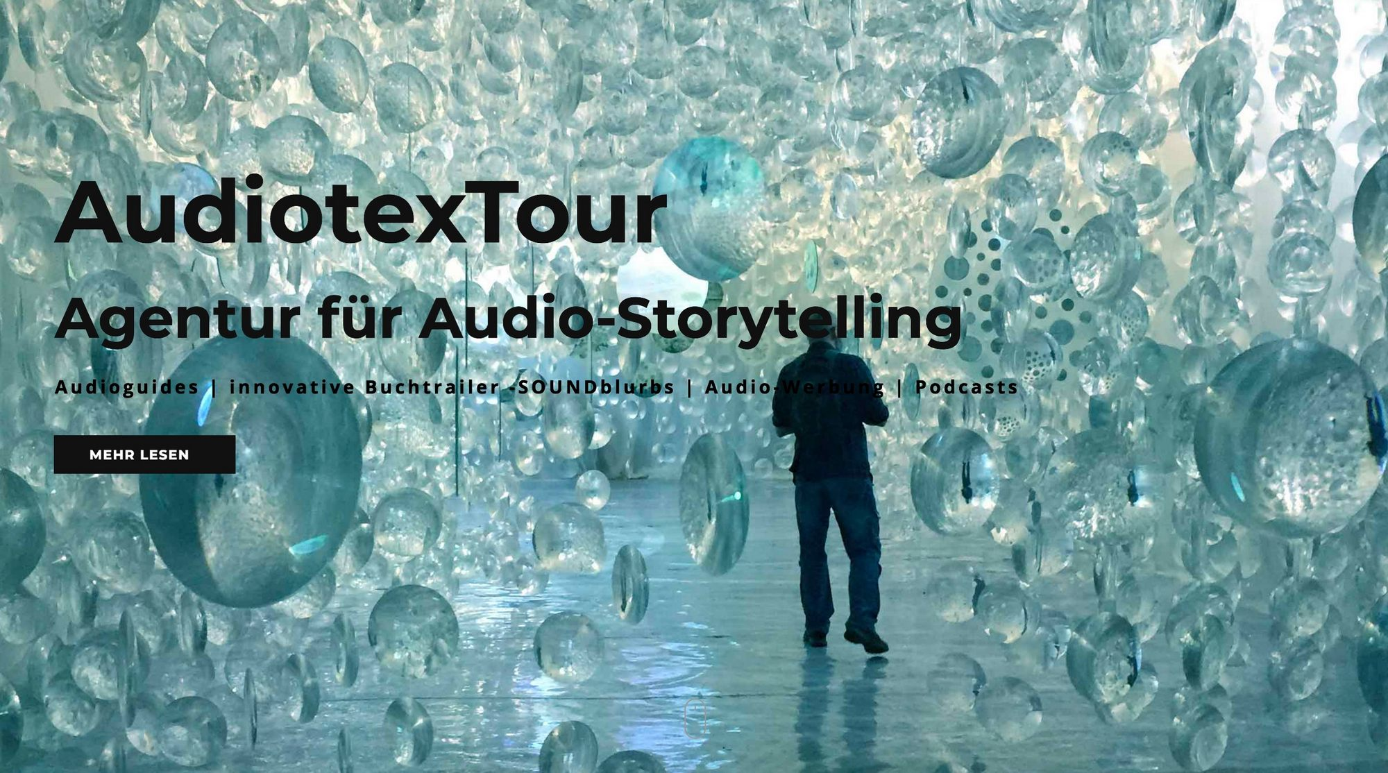 """Keyvisual """"Podcast und Storytelling für KMU zum Selbermachen"""" (Bildquelle: AudiotexTour)"""
