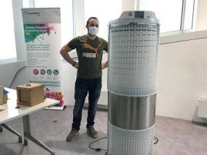 Herr Metz jun. und der Coronavirus (Bildquelle: Fraunhofer IAO)