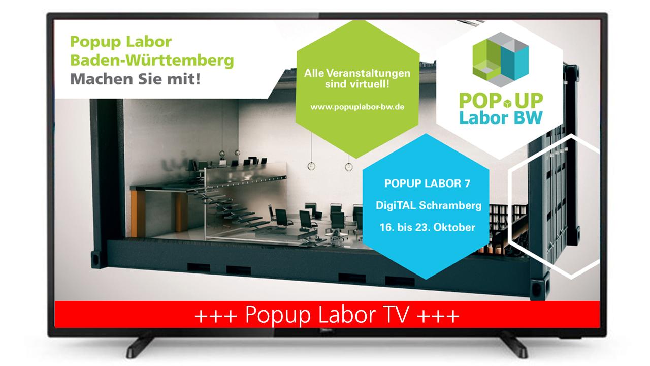 Popup Labor TV (Bildquelle: Popup Labor BW)