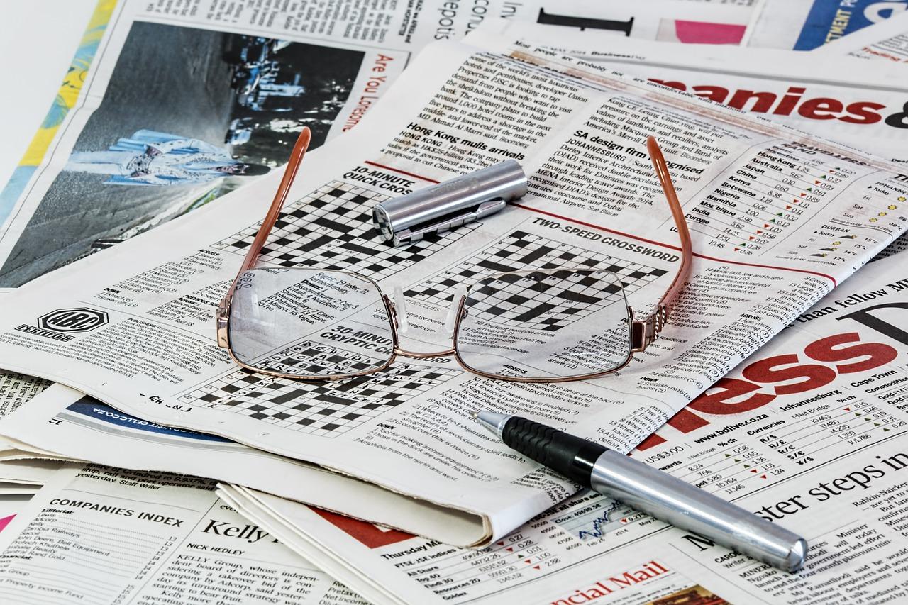 Symbolfoto Pressespiegel (Bildquelle: Pixabay)