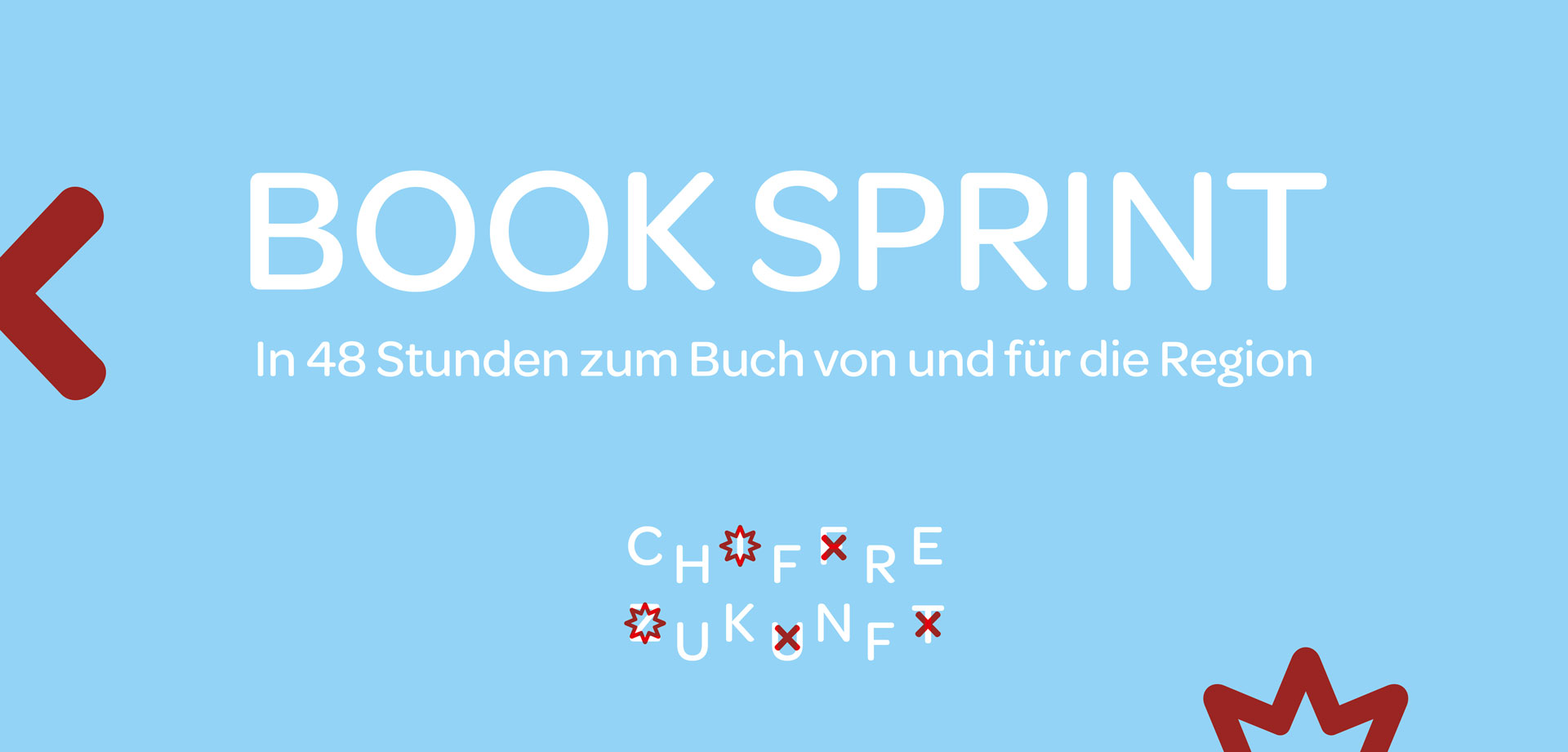 Keyvisual des Book Sprints (Bildquelle: Chiffre Zukunft)