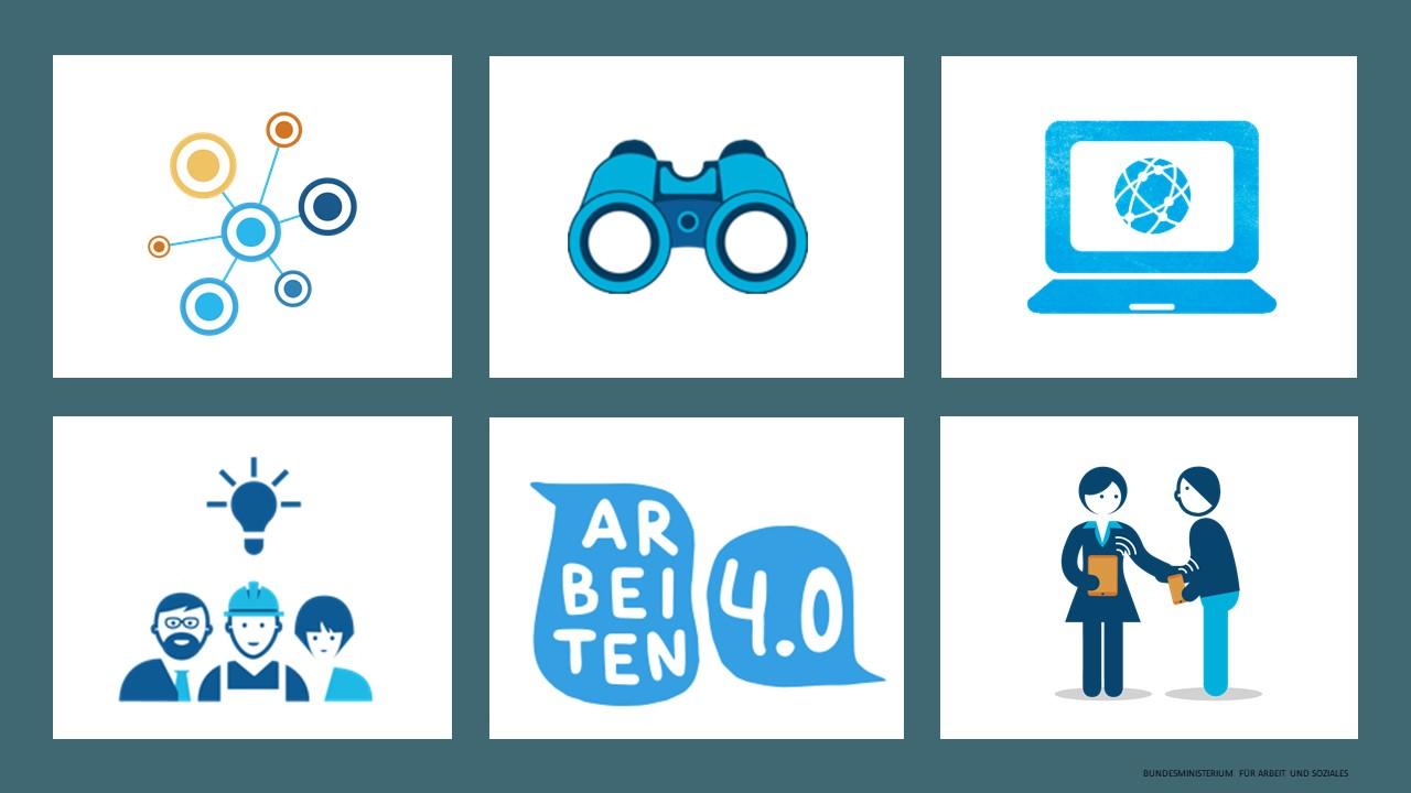 Keyvisual des Workshops Die Digitalisierung im Unternehmen voranbringen – Zukunft der Arbeit