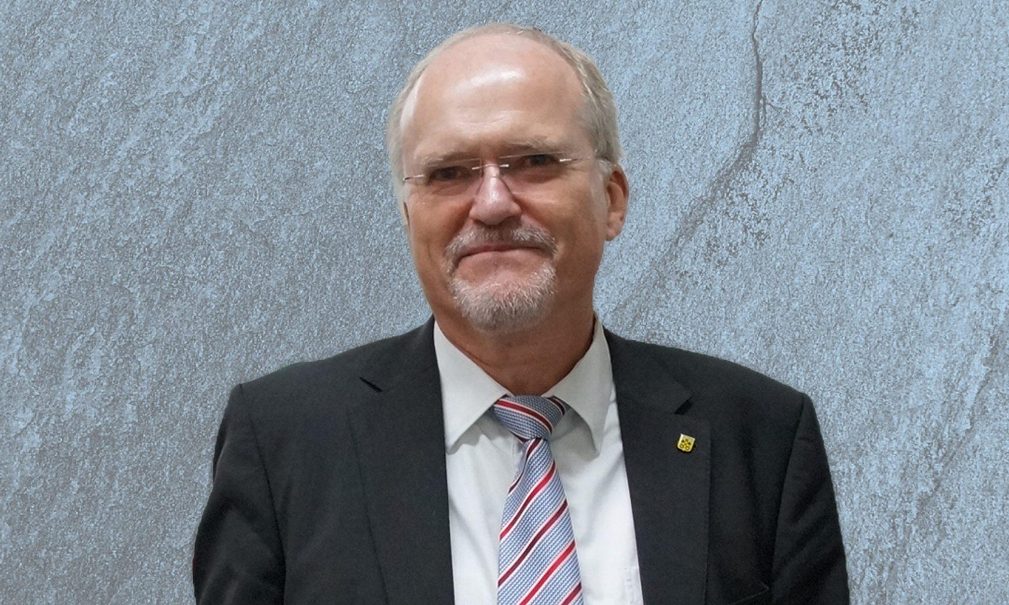 Foto von Bürgermeister Wolfgang Faißt (Bildquelle: Stadt Renningen)