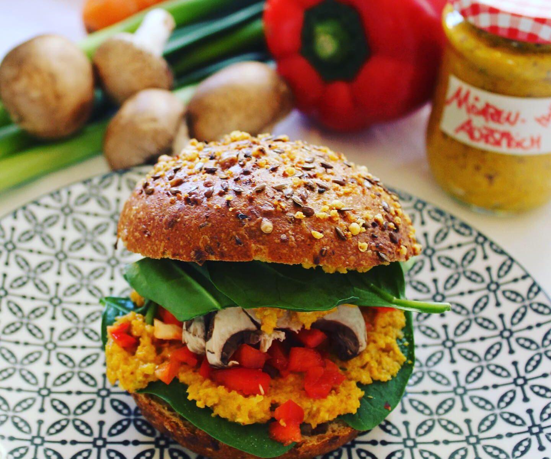 Keyvisual_Online-Kochen Gemüsesandwich (Bildquelle: Stephanie Lehmann)