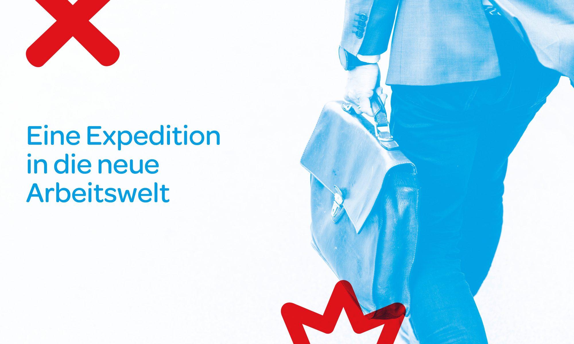"""Keyvisual von """"Expedition in die neue Arbeitswelt"""" (Bildquelle: Innovationsteam Chiffre Zukunft)"""