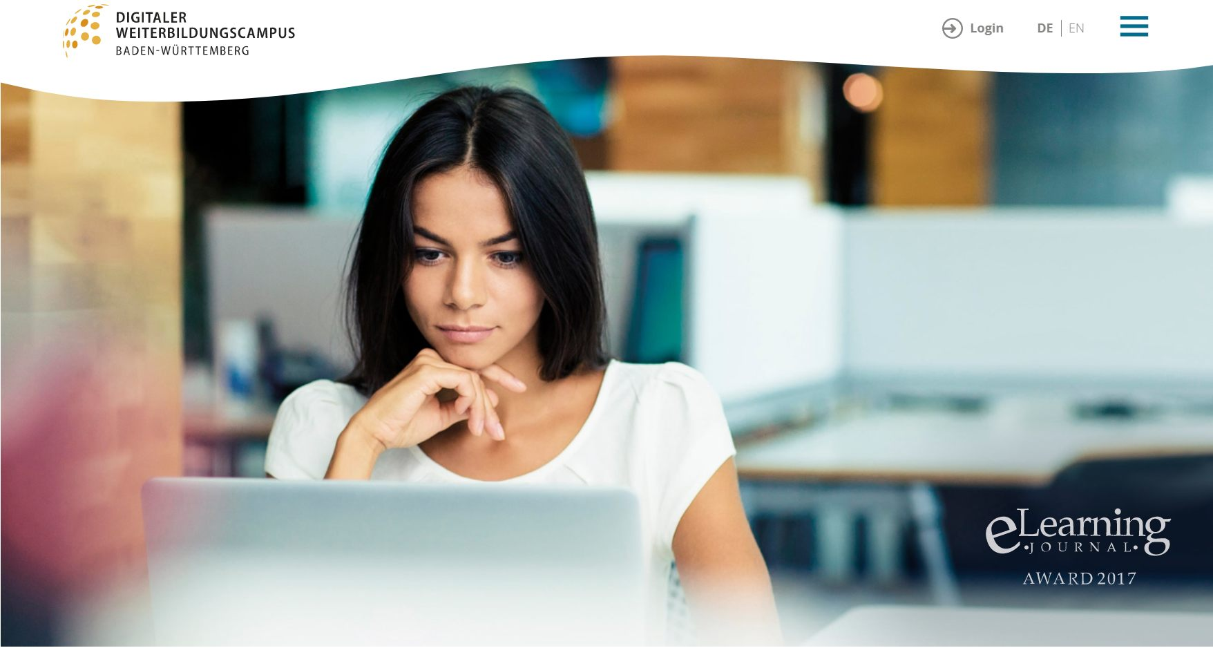 Keyvisual von Digitaler Weiterbildungscampus (Bildquelle: digitaler-weiterbildungscampus.de)
