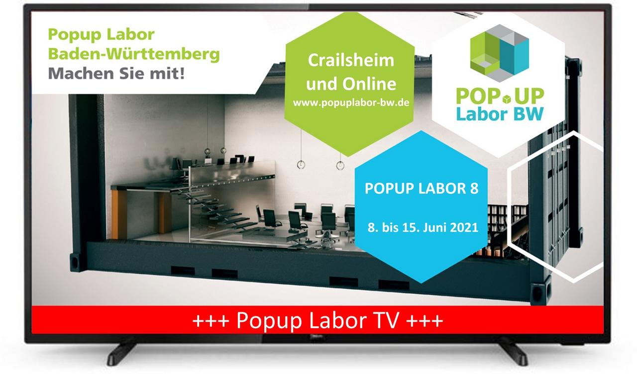 Popup Labor TV (Bildquelle Popup Labor BW)