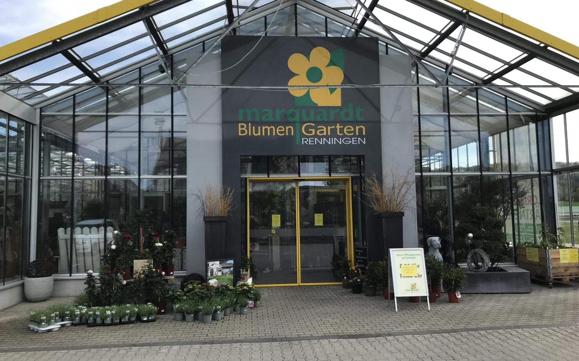 Keyvisual BlumenGarten Marquardt in Renningen (Bildquelle: Popup Labor BW)