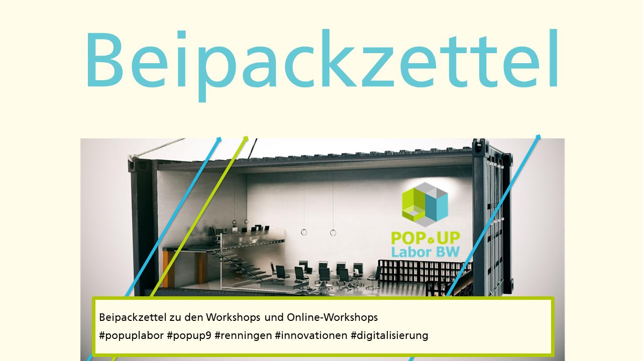 Popup9 Beipackzettel Coverbild