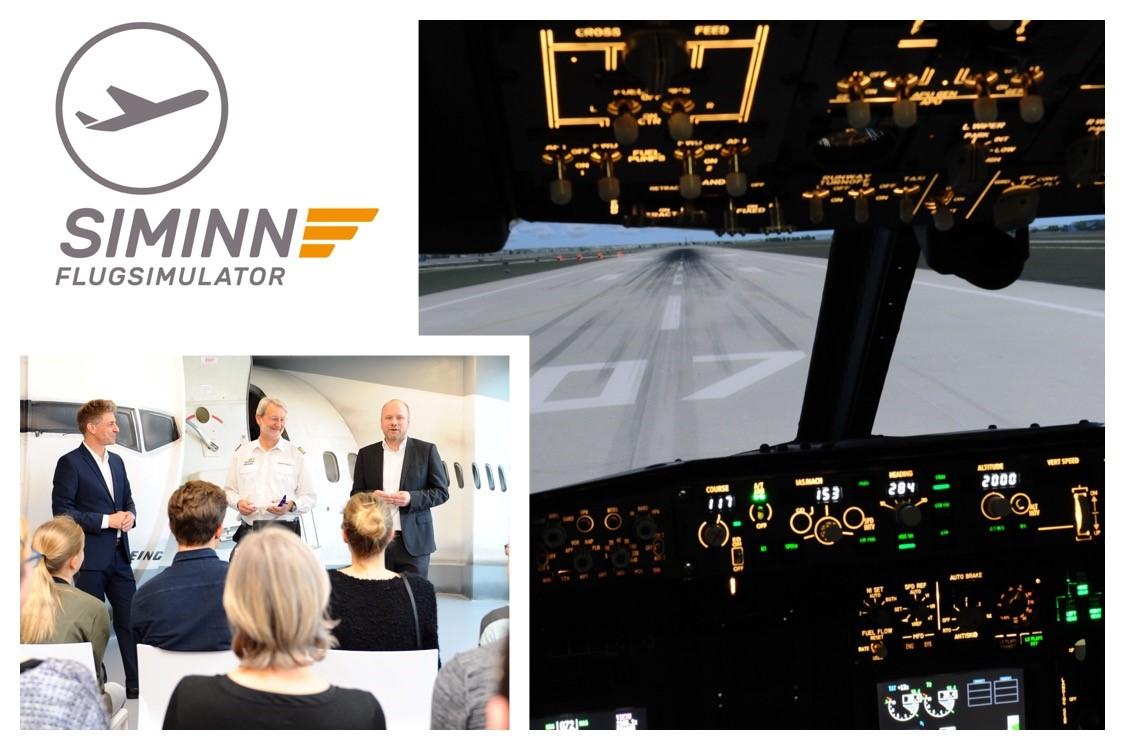 Keyvisual Airline-Piloten Workshop (Bildquelle: SIMINN GmbH Flugsimulator Stuttgart)